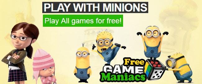 Διαφημιστικό Banner για το FreeGameManiacs