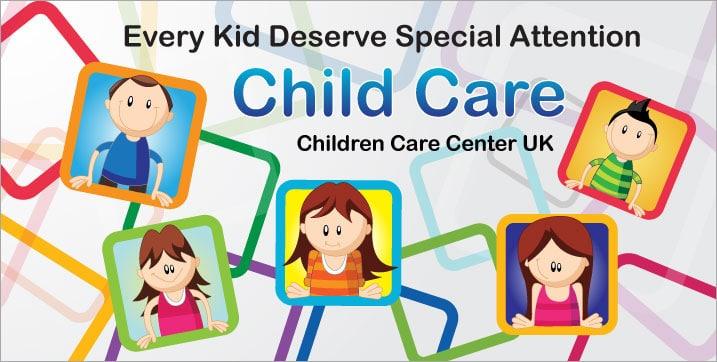Διαφημιστικό Banner για το Children Care Center