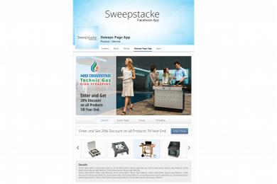 Εφαρμογή Facebook Sweepstake