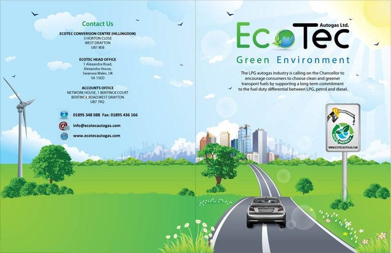 Εξώφυλλο Φυλλαδίου για το EcoTec