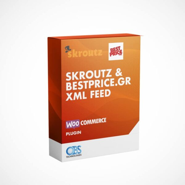 WP Woocommerce XML Feed για Skroutz.gr και bestprice.gr