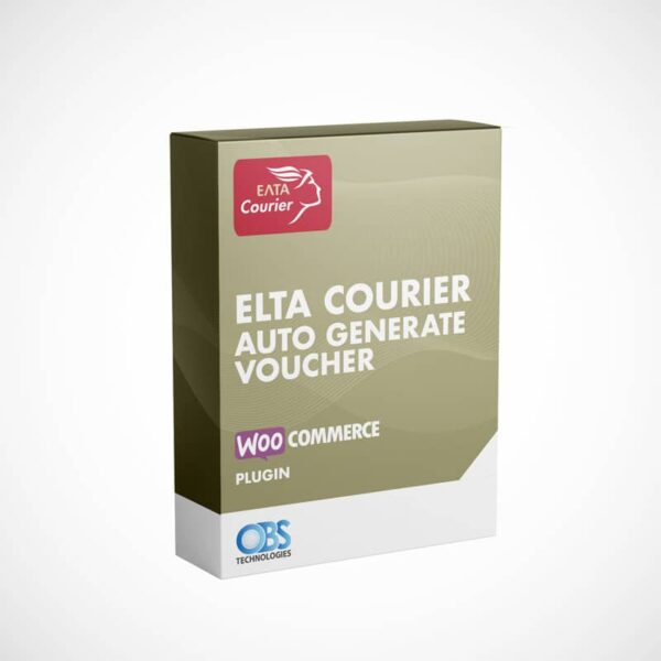 WP Woocommerce Elta Courier Voucher Plugin