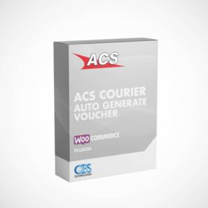 WP Woocommerce ACS Courier Voucher Plugin