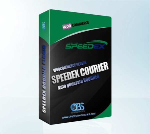 WP Woocommerce Speedex Courier Voucher Plugin Wordpress