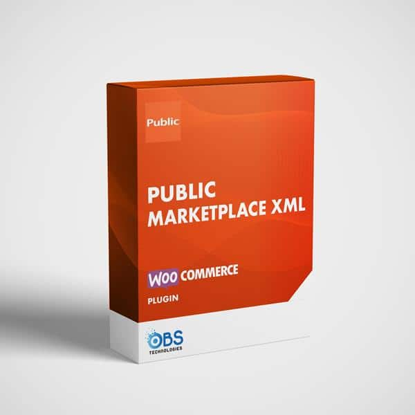 Public Marketplace XML Feed Plugin