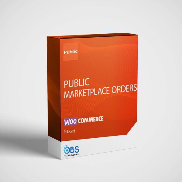 Public Marketplace Συγχρονισμός Πραγγελιών με το Woocommerce Plugin