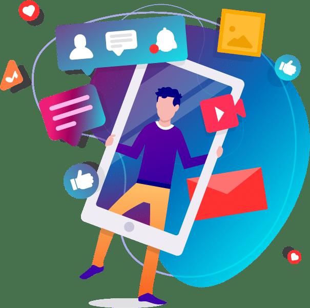 Προβολή και Καμπάνιες στα Social Media