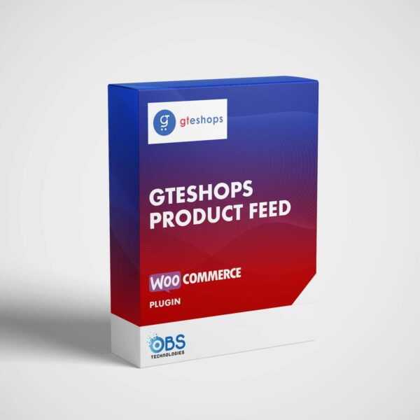 woocommerce gteshops product feed